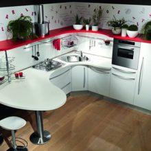 Компактные кухни в Симферополе на заказ для маленькой кухни