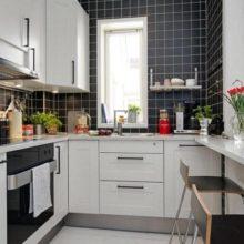 Идеи дизайна для маленькой кухни в Симферополе на заказ