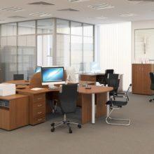 Корпусная мебель для офисов по индивидуальному заказу в Симферополе