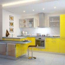 Дизайн современной кухни в Симферополе на заказ