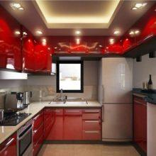 Современный дизайн для маленькой кухни в Симферополе на заказ