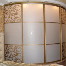 Радиусные шкафы-купе в Симферополе на заказ