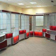 Торговая мебель на заказ в Симферополе производства компании Мебельщик