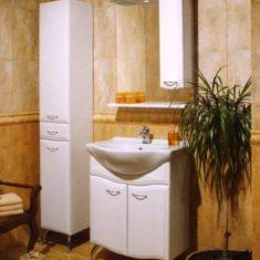 Корпусная мебель для ванных комнат на заказ в Симферополе производства компании Мебельщик